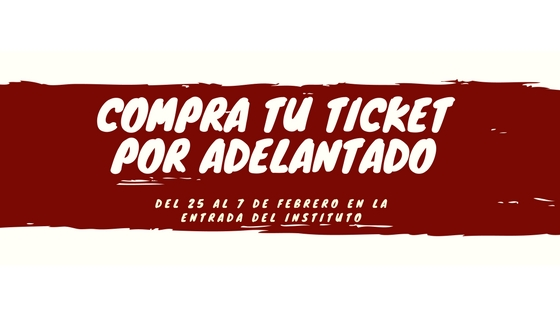 COMPRA TU TICKET POR
